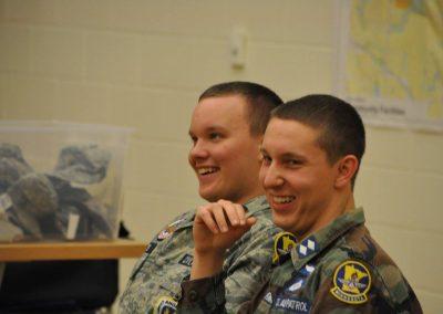 Our Cadets enjoy CAP
