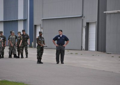 Capt Frame and Cadet Dokken